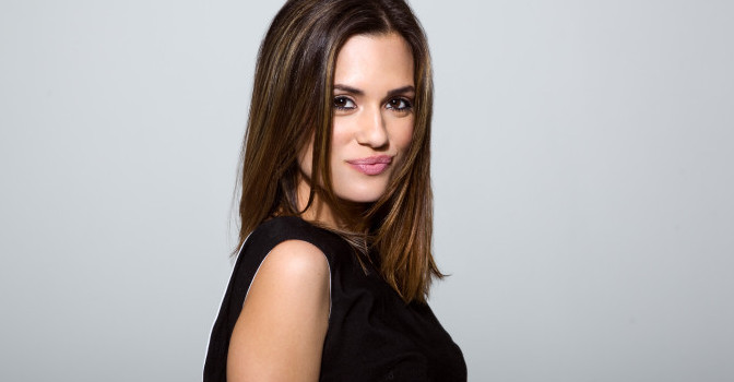 Torrey DeVitto on Chicago Med